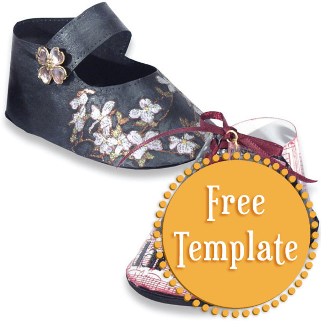 Mary Jane Shoes Template