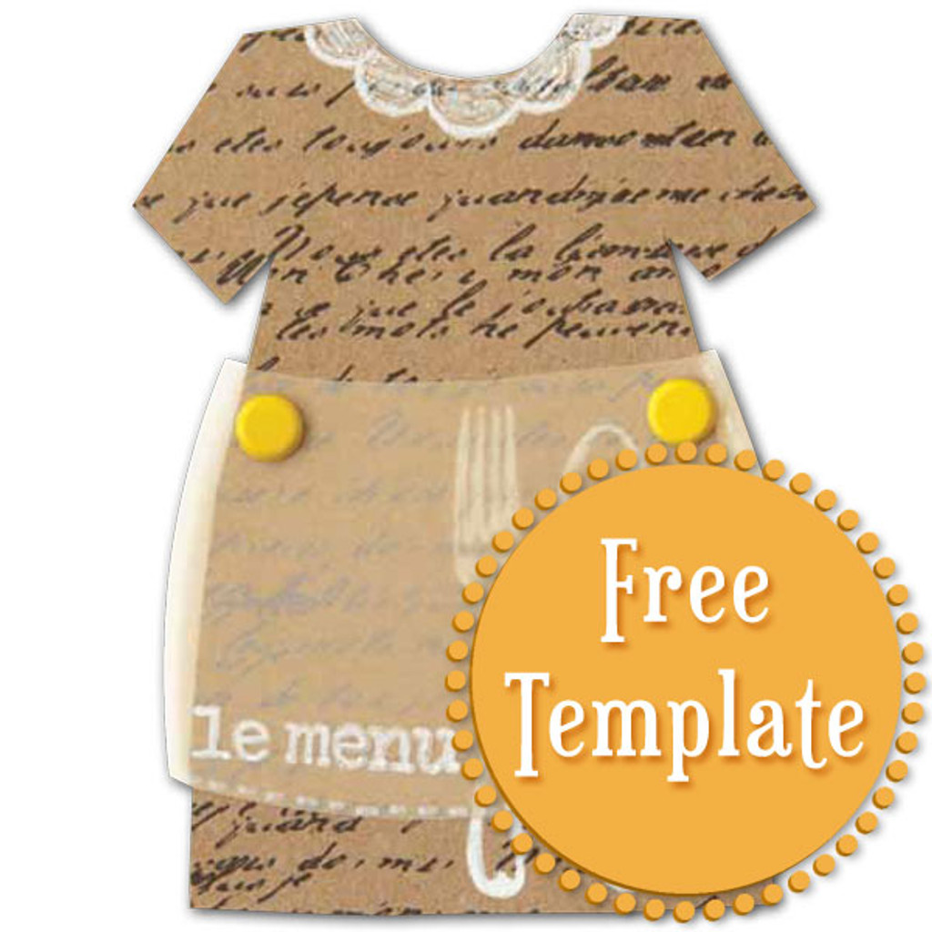 Dress and Apron Template