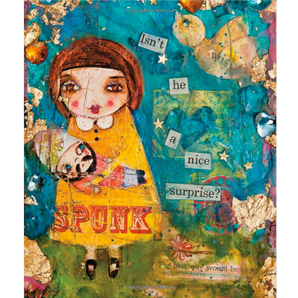 Mixed—Media Girls with Suzi Blu