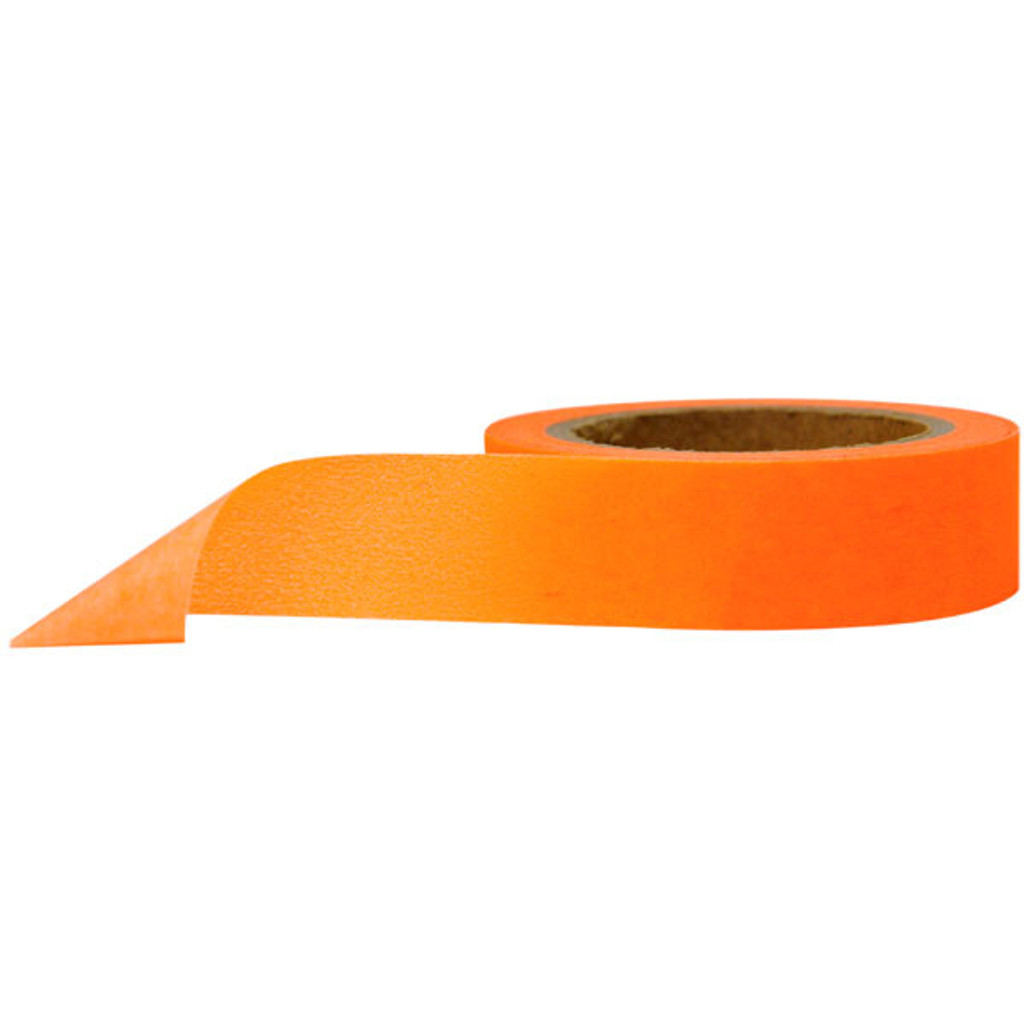 Washi Tape — Solid Fluorescent Orange