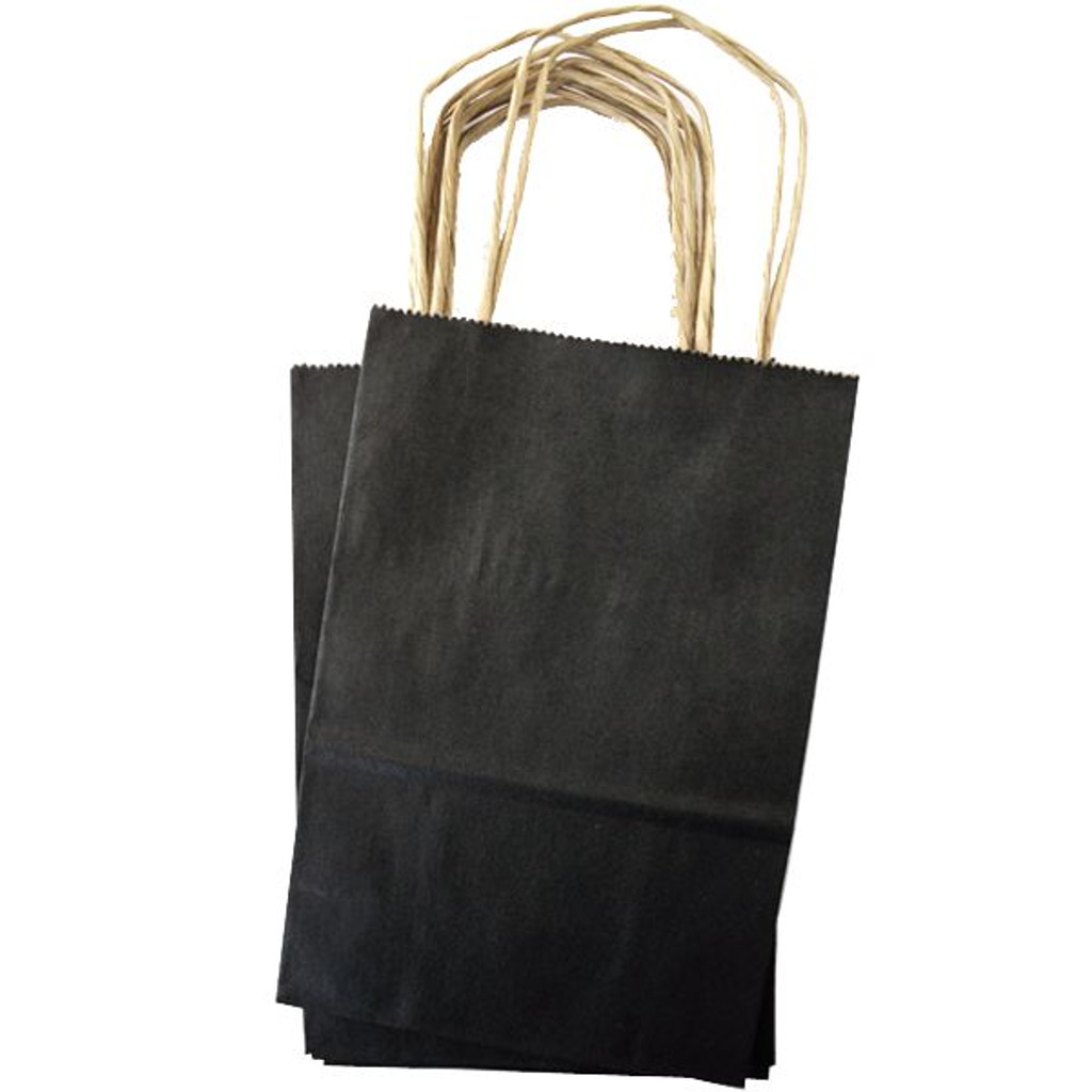 Mini Shopping Bag - Black