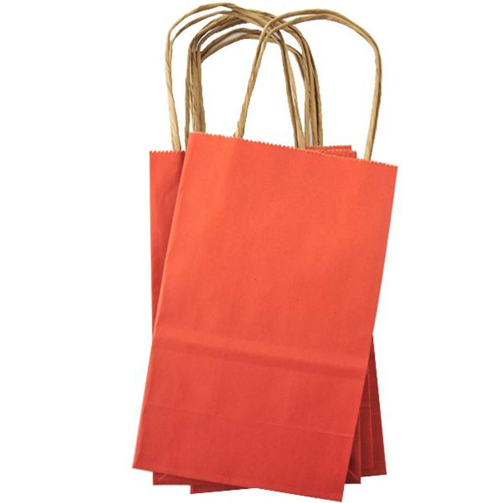 Mini Shopping Bag — Orange