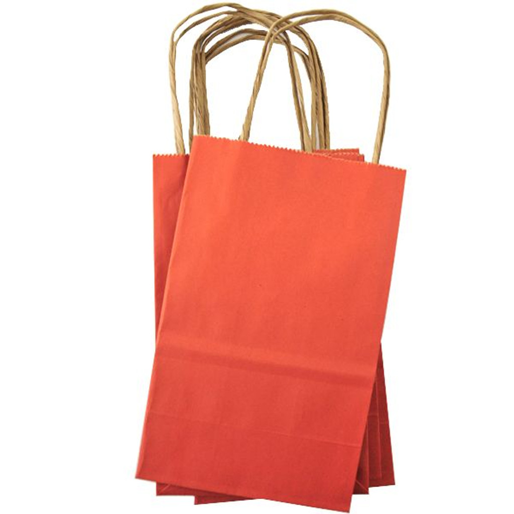 Mini Shopping Bag — Orange