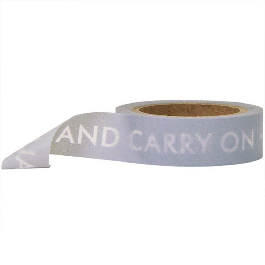 Washi Tape — Keep Calm and Carry On