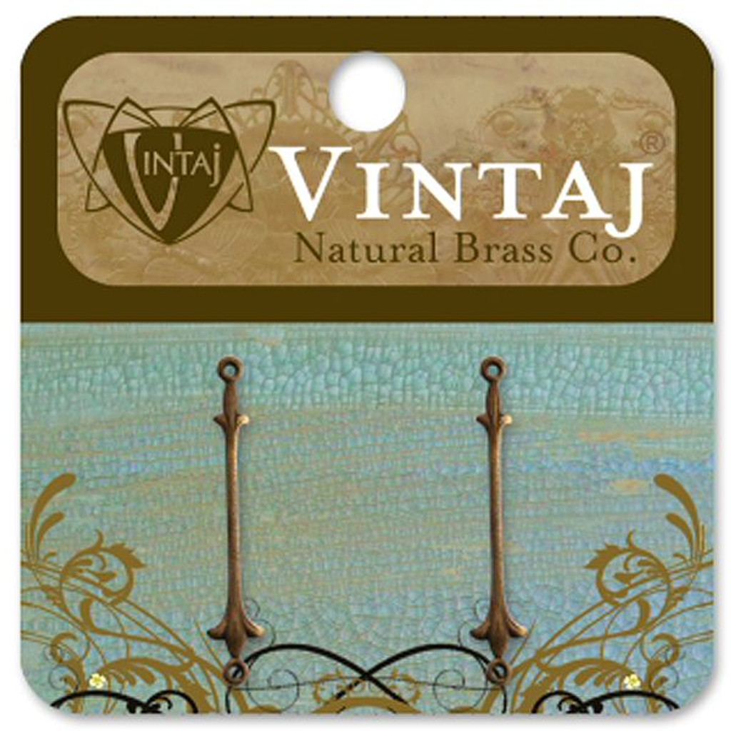 Vintaj Natural Brass Co. Fleur De Lis