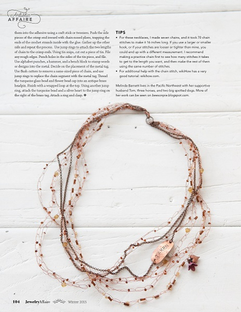 Jewelry Affaire Winter 2015