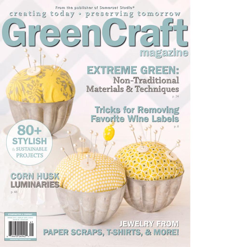 GreenCraft Magazine Spring 2014