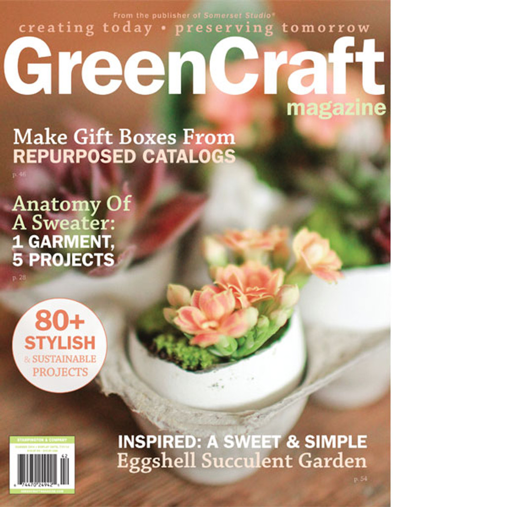 GreenCraft Magazine Summer 2014