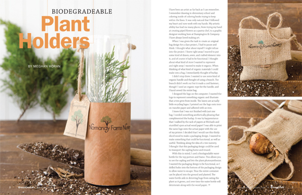 GreenCraft Magazine Autumn 2014