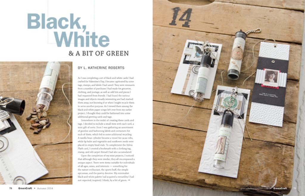 GreenCraft Magazine Autumn 2014
