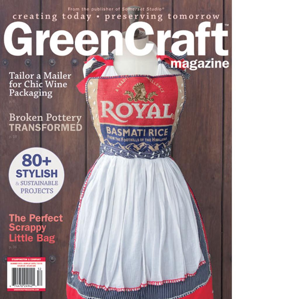 GreenCraft Magazine Summer 2015