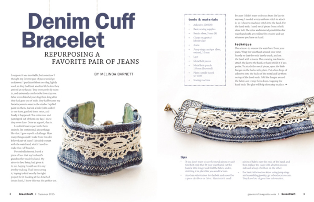 GreenCraft Magazine Summer 2015