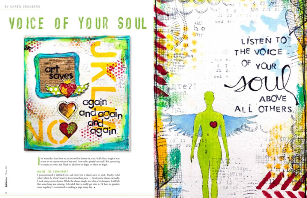 Art Journaling Winter 2013
