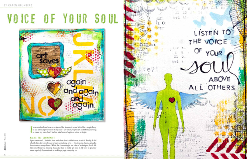 Art Journaling Winter 2013