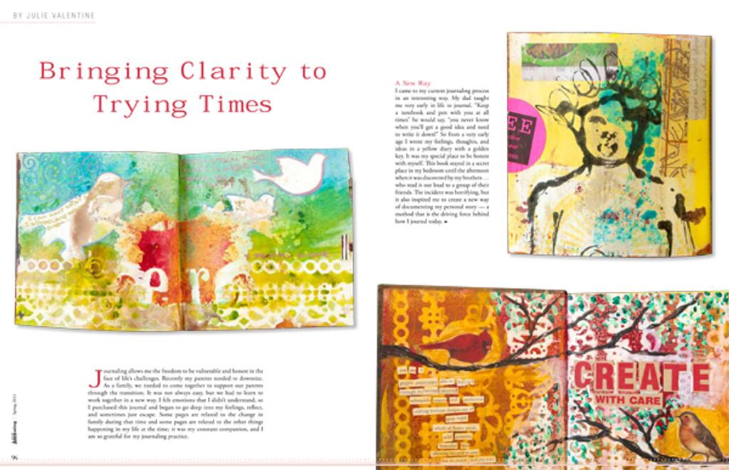 Art Journaling Spring 2013