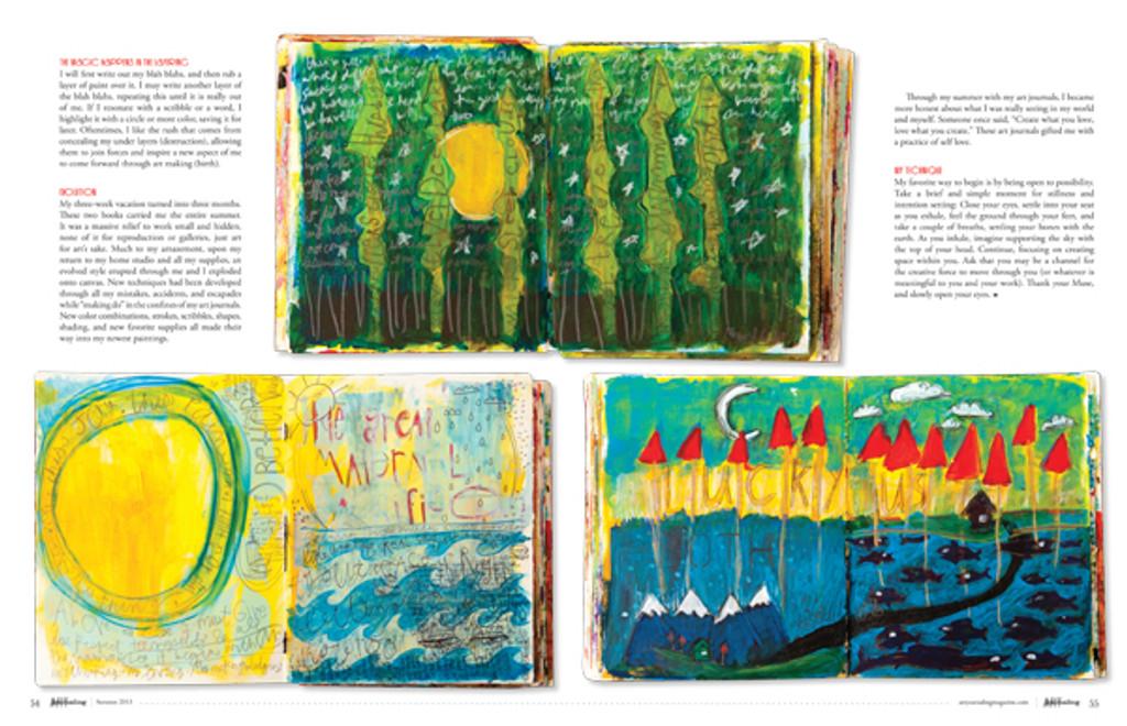 Art Journaling Autumn 2013