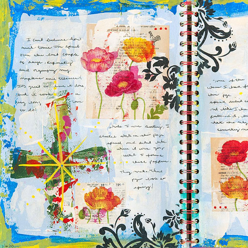 Art Journaling Spring 2014