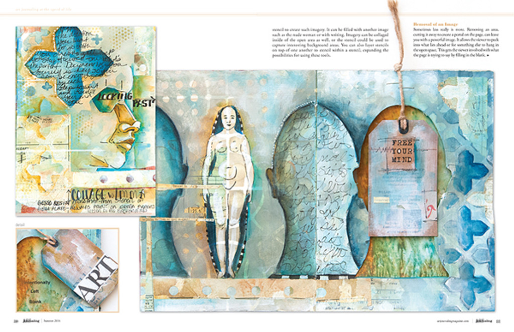 Art Journaling Summer 2014