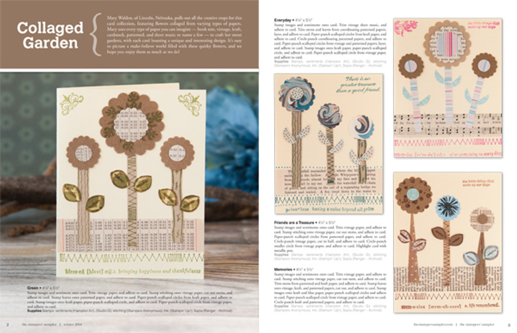 The Stampers' Sampler Winter 2014