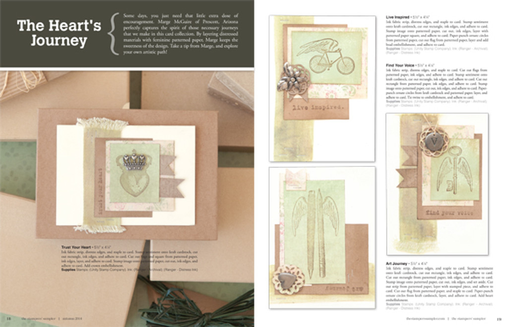The Stampers' Sampler Autumn 2014