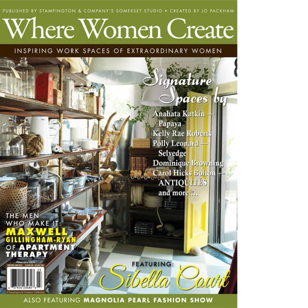 Where Women Create Winter 2013