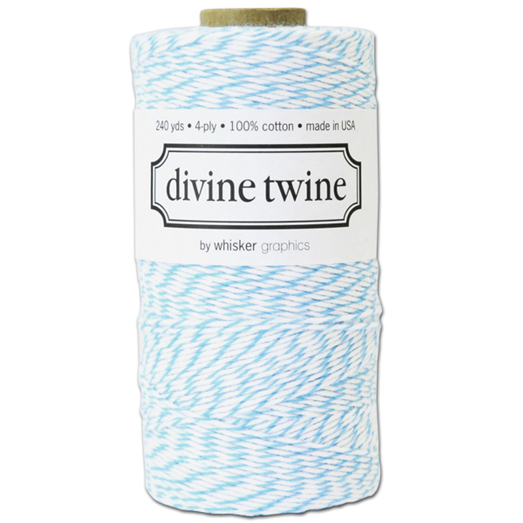 Divine Twine Baker's Twine — Aqua