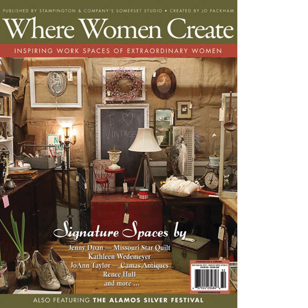 Where Women Create Summer 2013