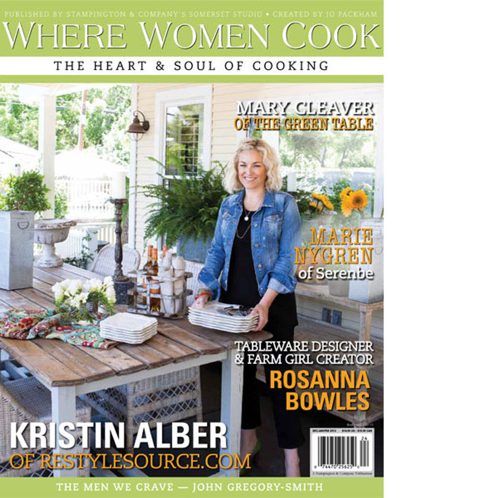 Where Women Cook Spring 2013