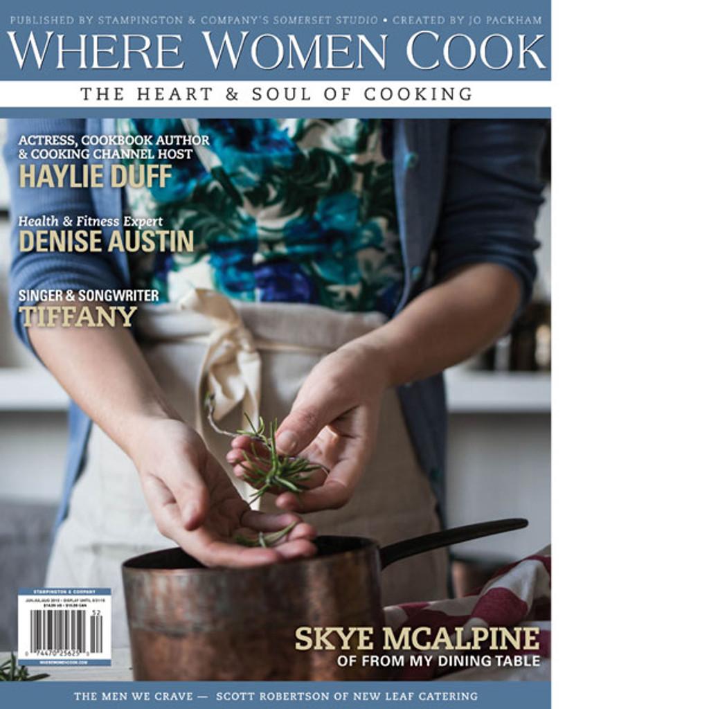 Where Women Cook Summer 2015