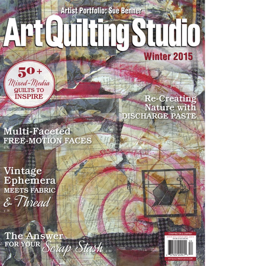 Art Quilting Studio Winter 2015