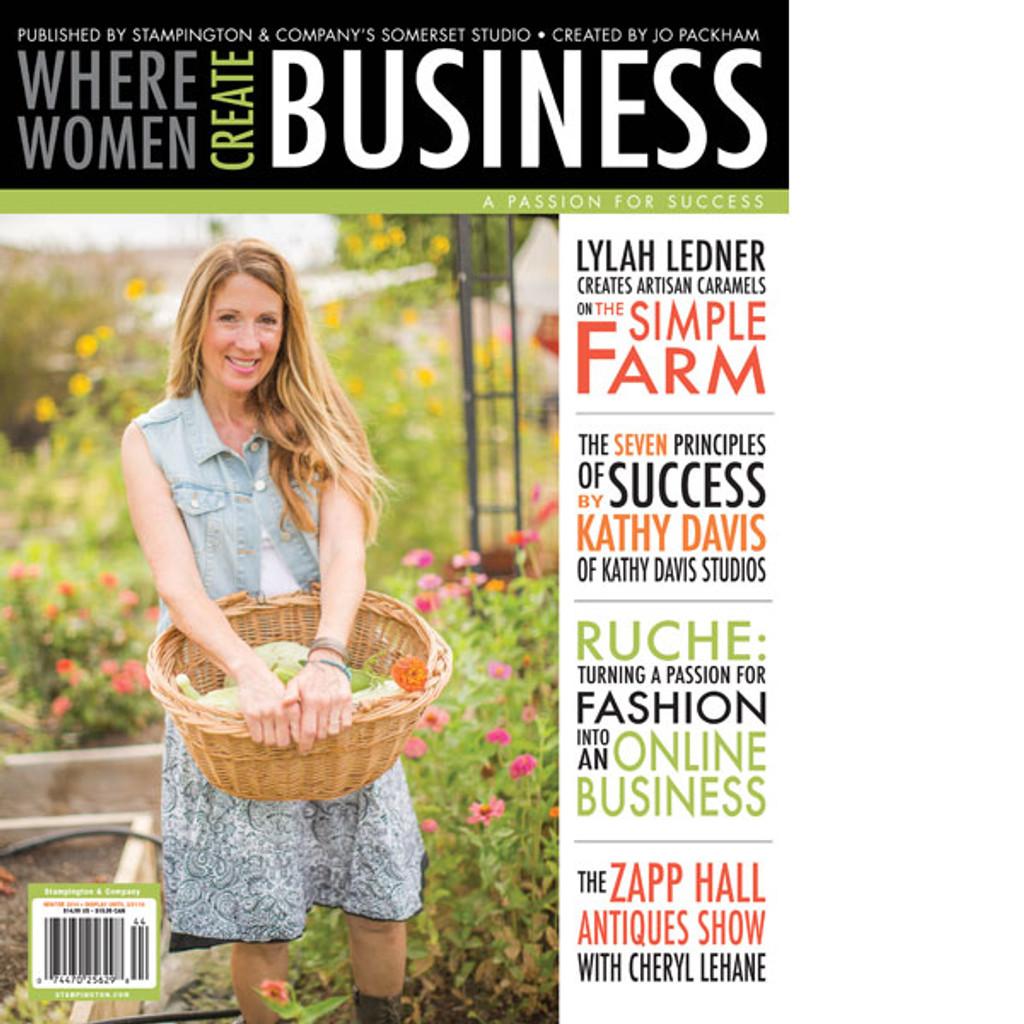 Where Women Create BUSINESS Winter 2014