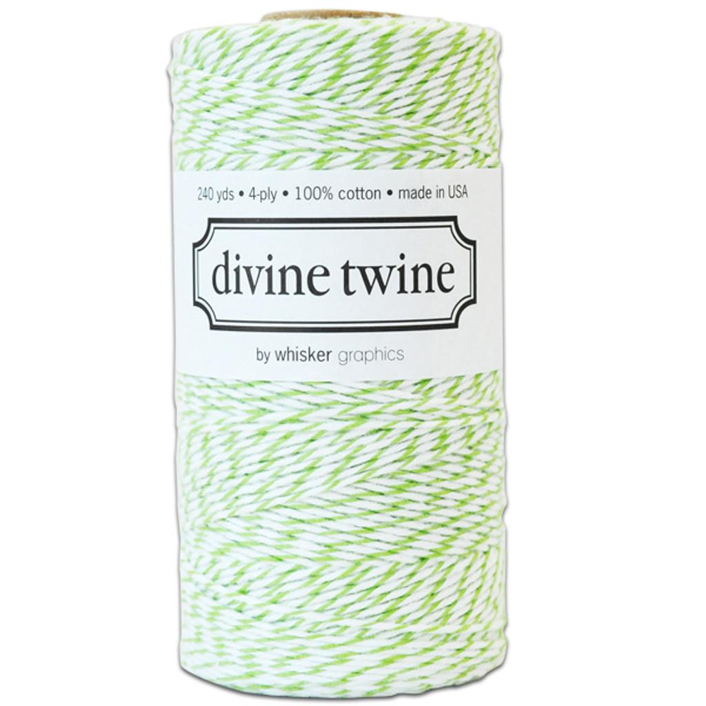 Divine Twine Baker's Twine — Green Apple
