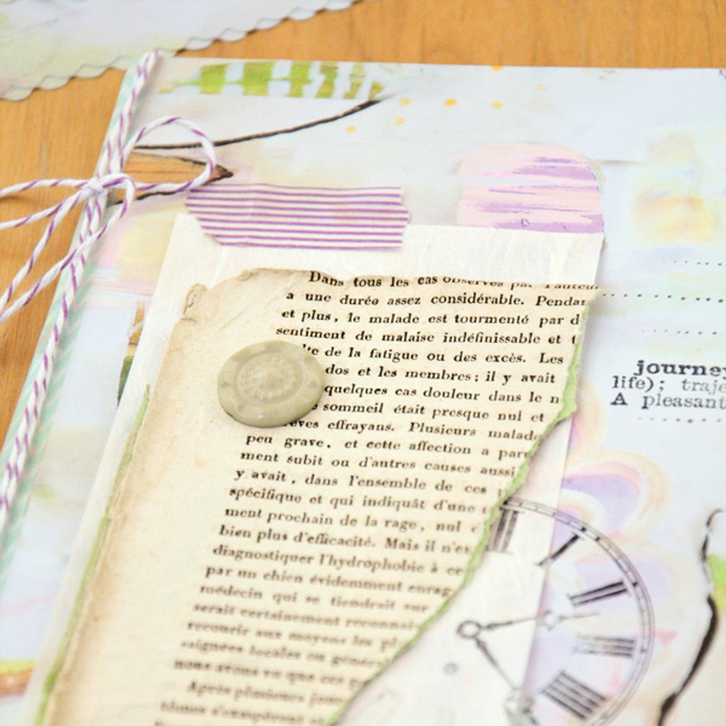 Journey Envelope Book Project