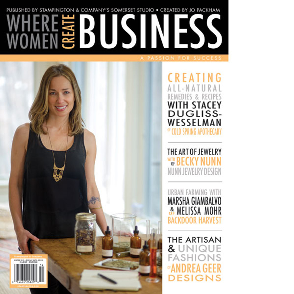 Where Women Create BUSINESS Winter 2015