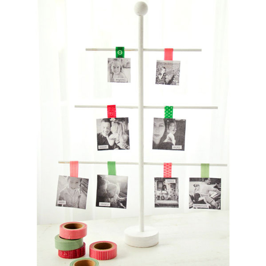 Photo Ornament Tree Project