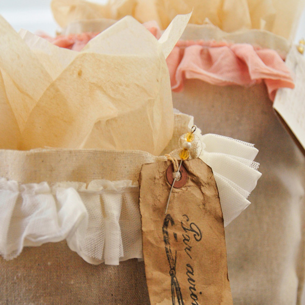 Ruffled Gift Bags Project