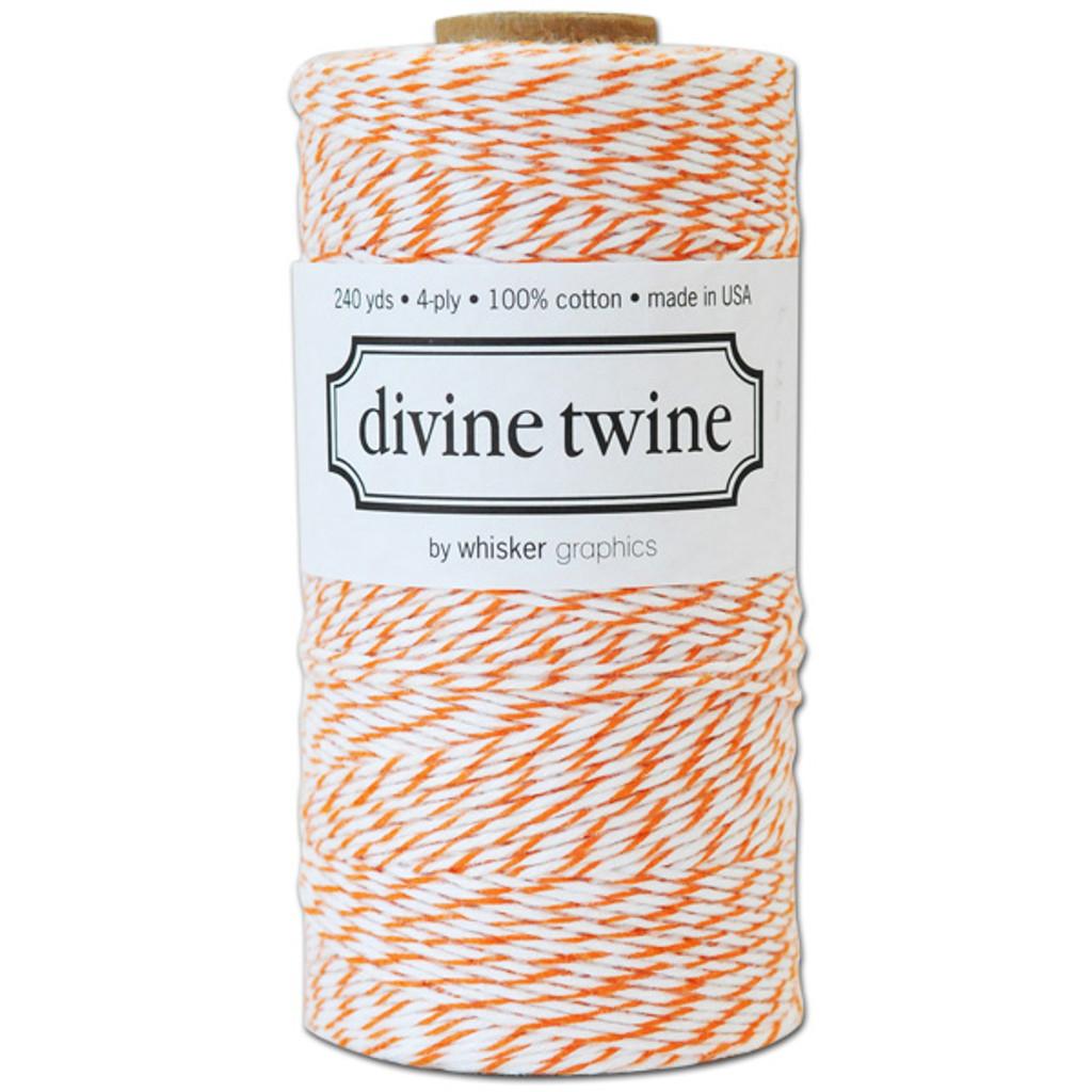 Divine Twine Baker's Twine — Orange