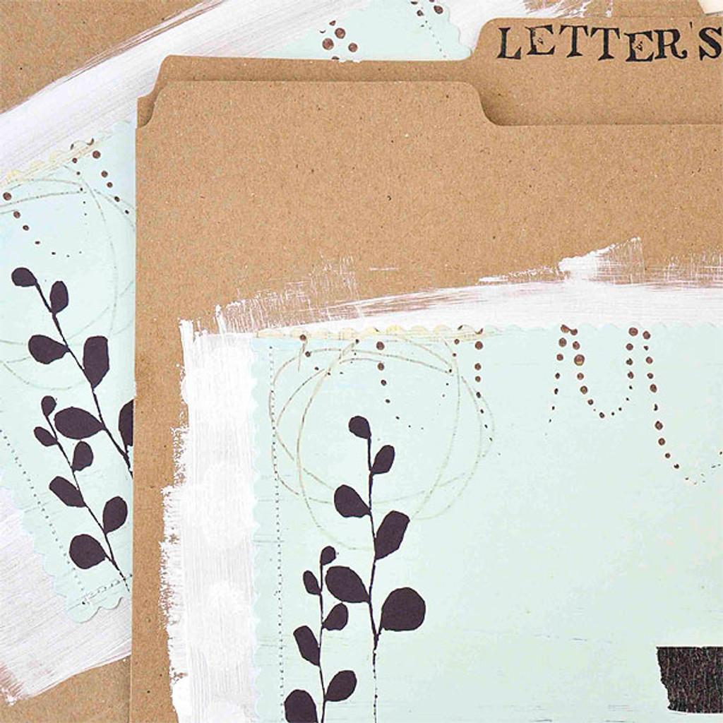 Flora File Folders Project