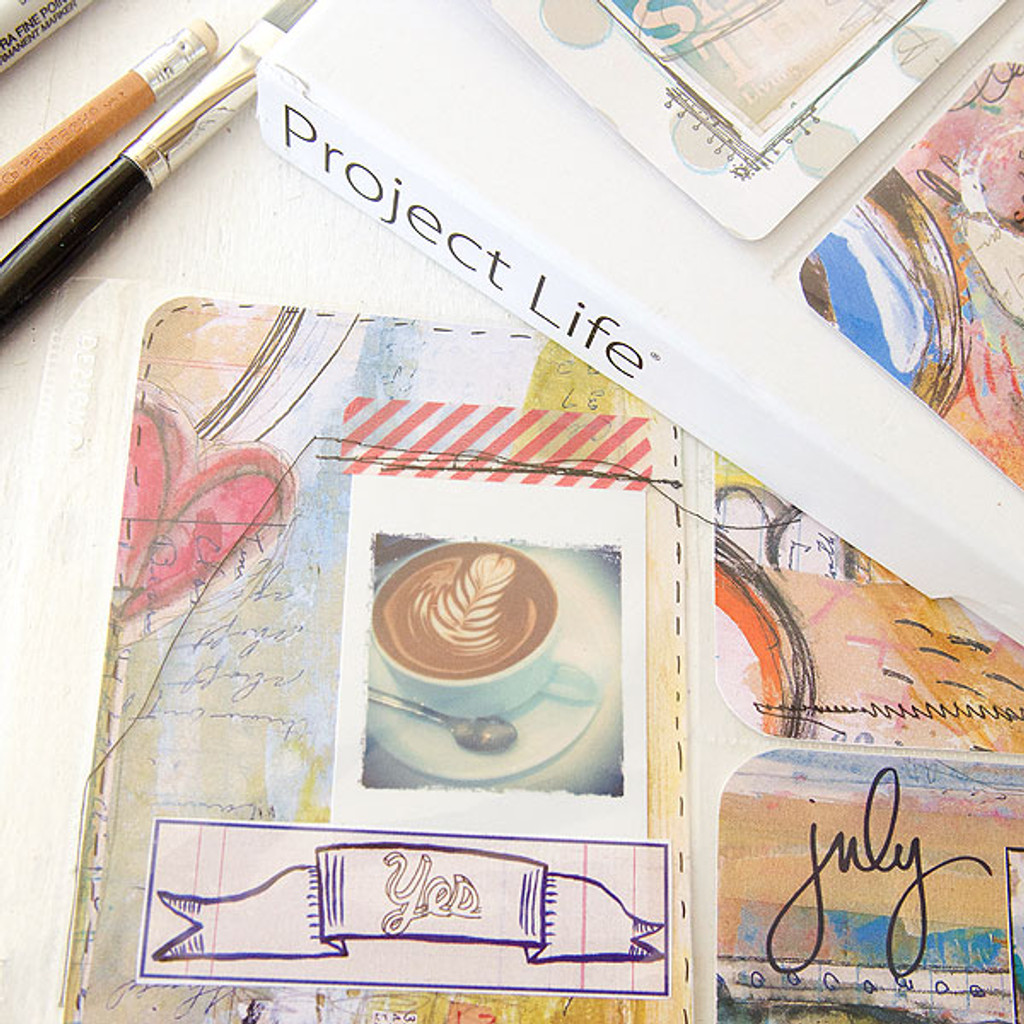 Mixed-Media Project Life Pages Project by Roben-Marie Smith
