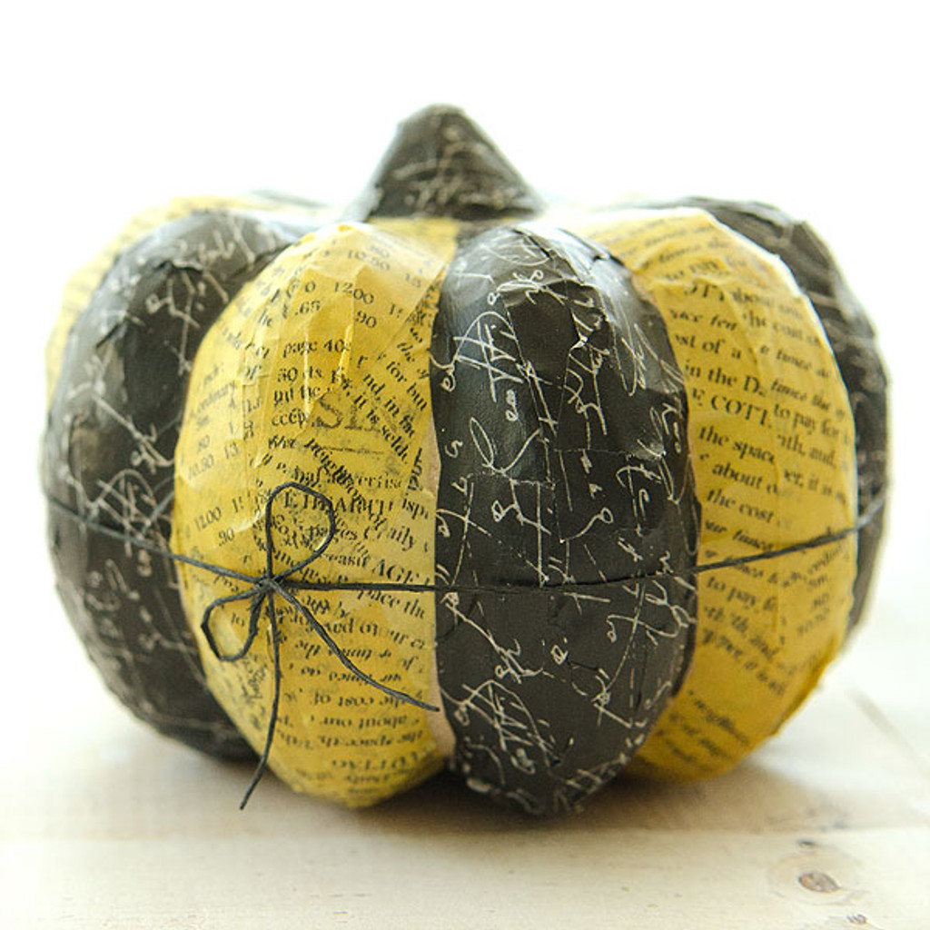 Fall Washi Pumpkins Project