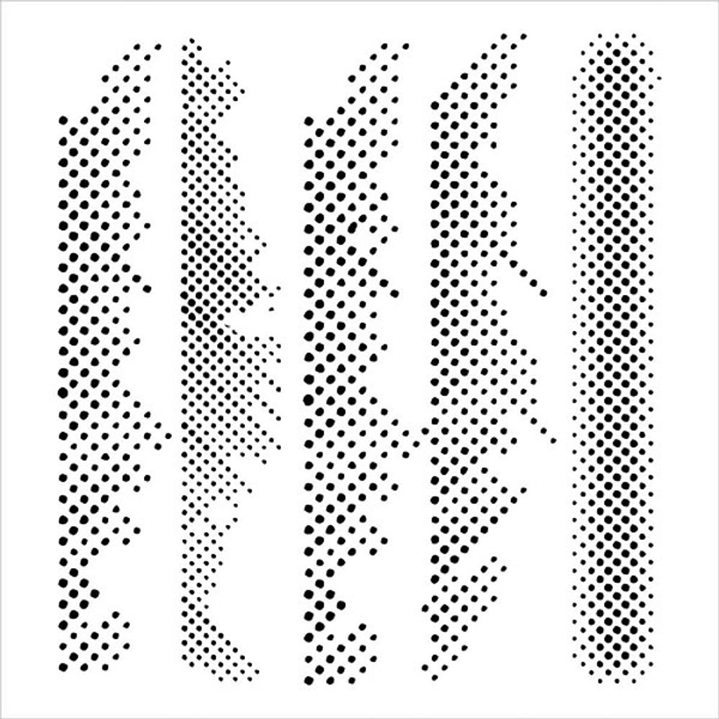 The Crafter's Workshop Halftone Border Stencil — 12 x 12