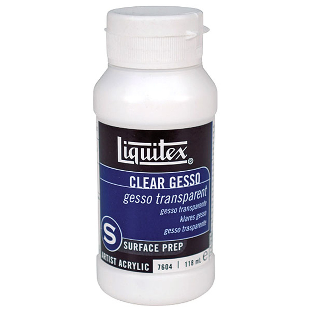 Liquitex Gesso Clear 8 oz