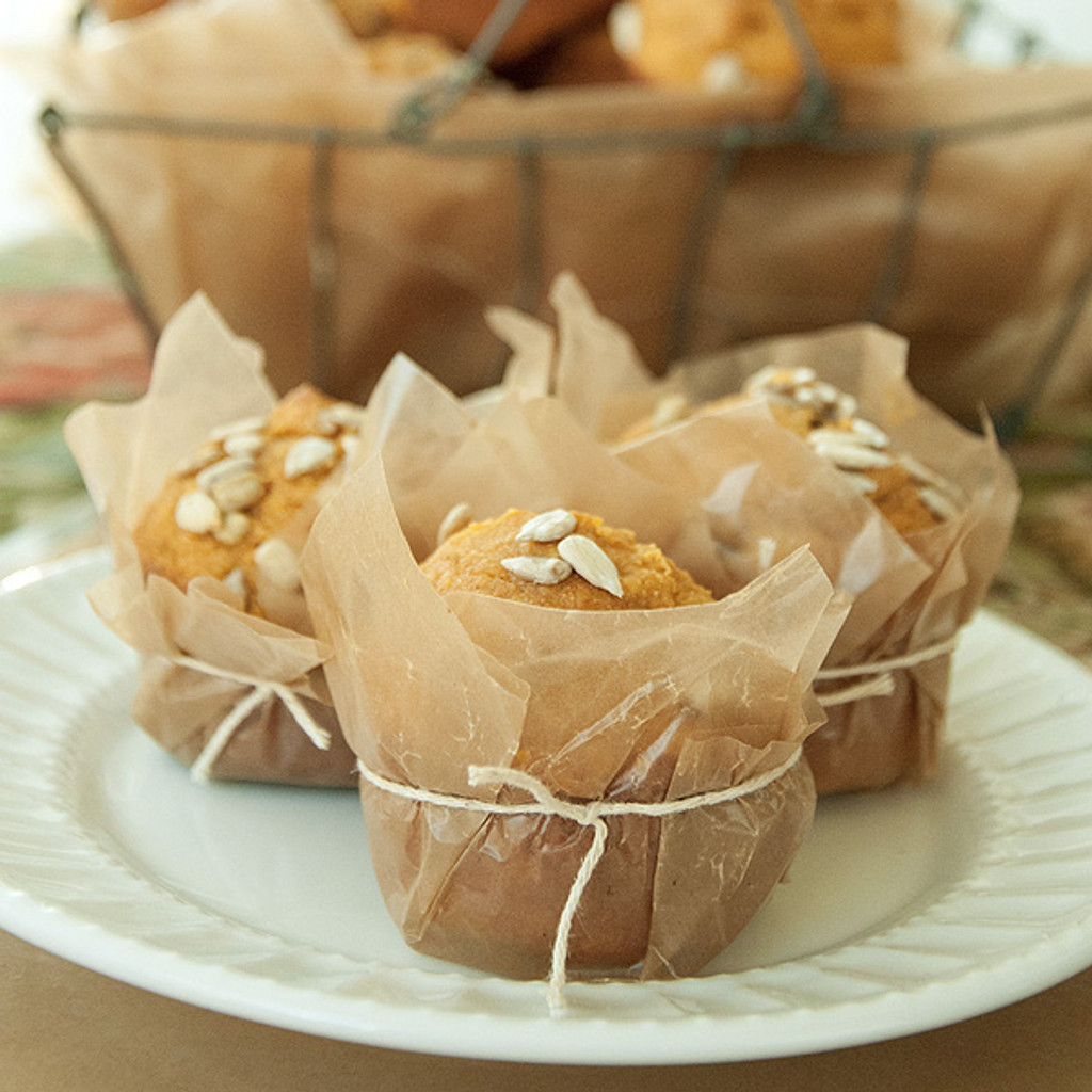 Harvest Affaire Wrapped Pumpkin Muffins Project