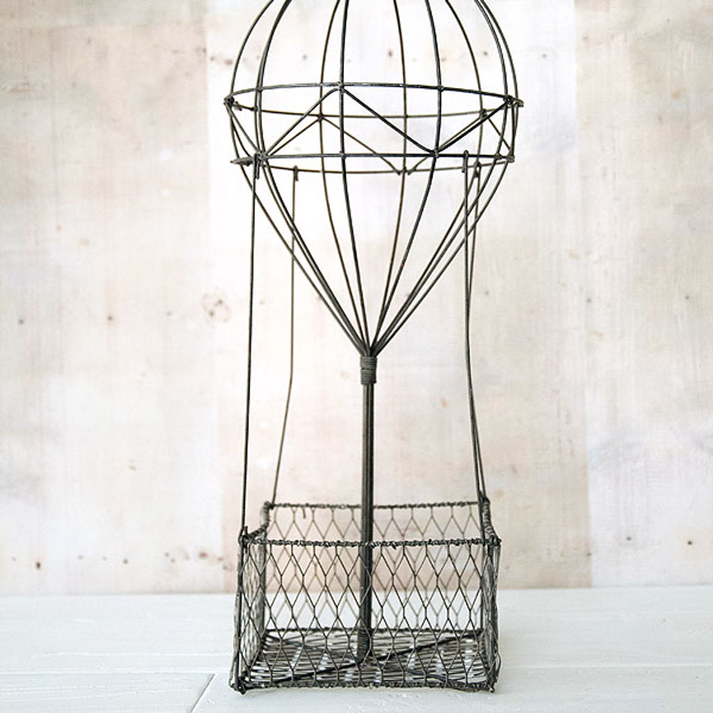 Hot Air Balloon Basket Wire Form