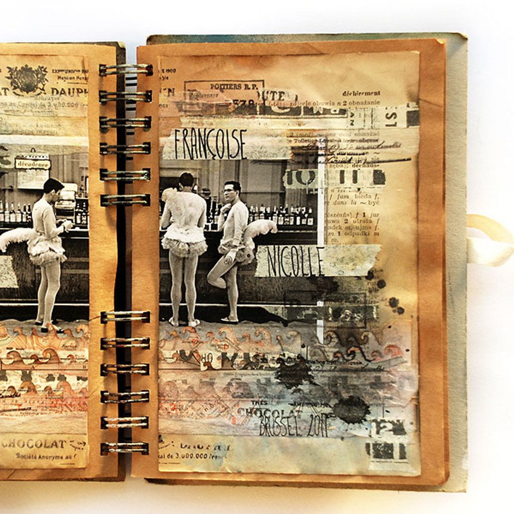 Francoise Journal Page Project by Finnabair