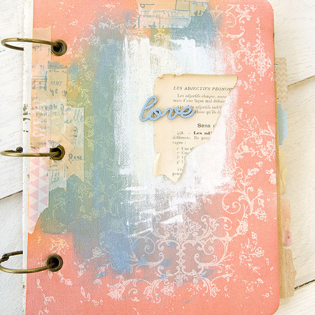 Resist Journal and Memory Book Project