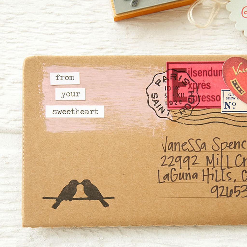 Postal Love Notebook Project