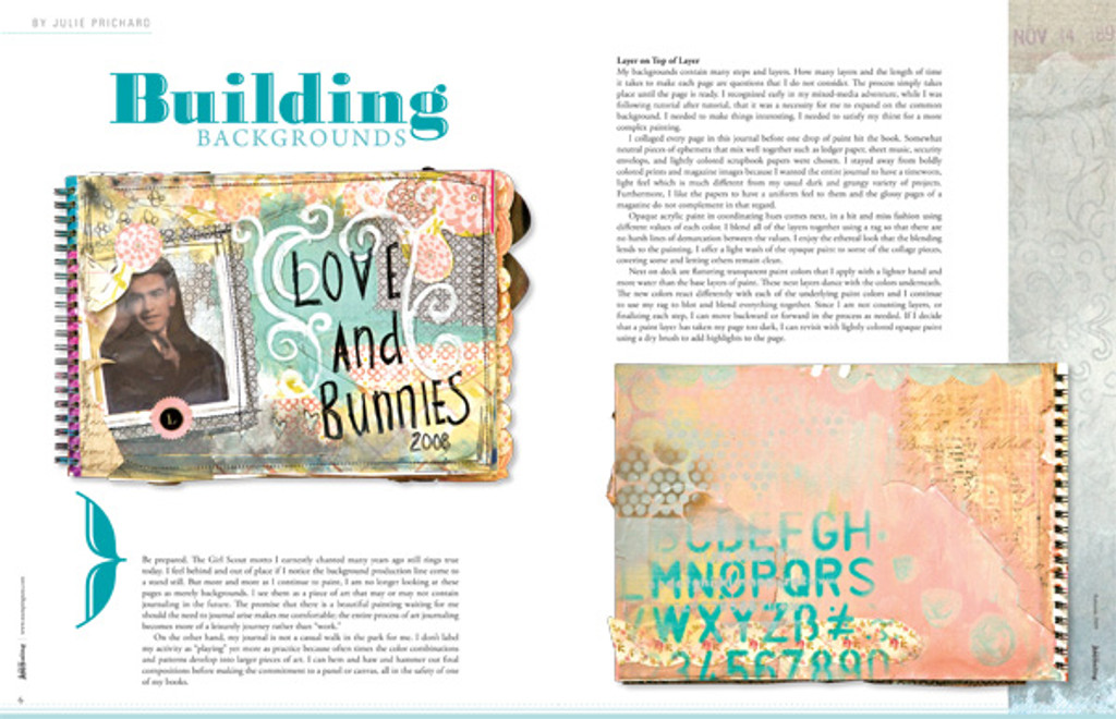 Art Journaling Winter 2010