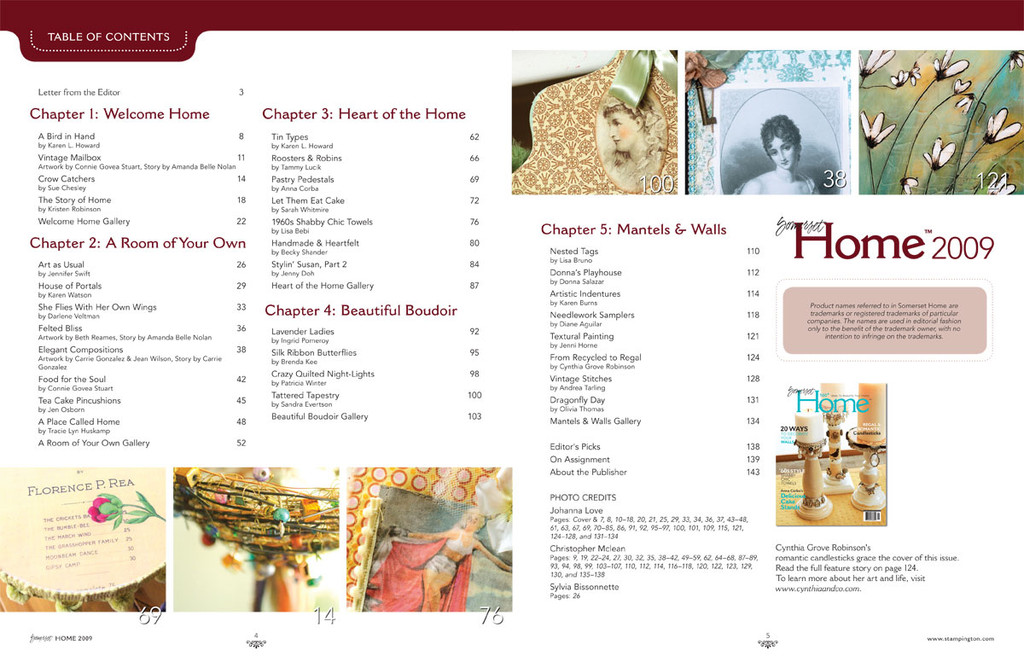 Somerset Home 2009 Volume 4
