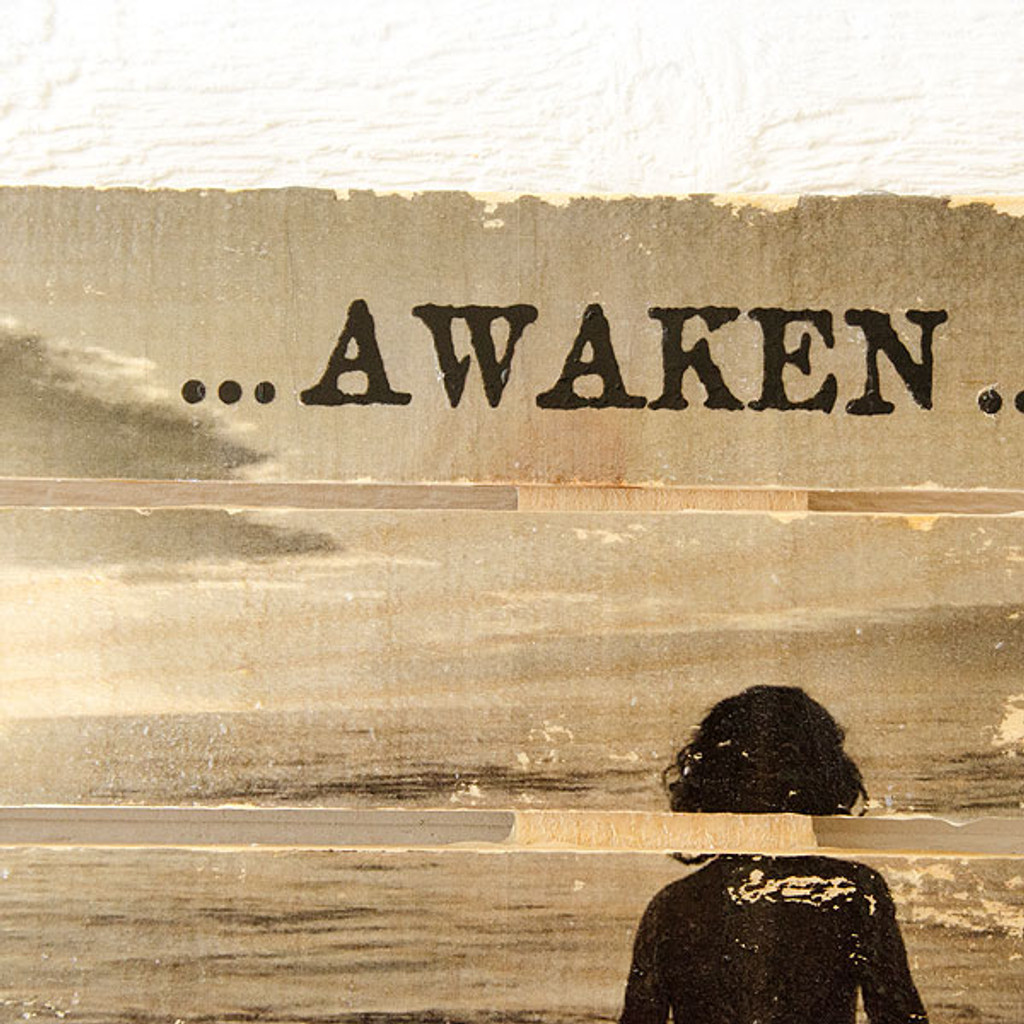 Awaken Wood Pallet Transfer Project by Johanna Love